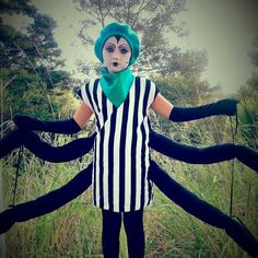 Spider costume james and the giant peach