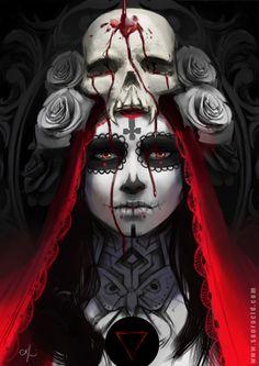 Dia de los Muertos by SourAcid | Creatures from Dreams