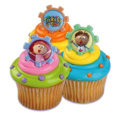 Tickety toc cupcakes