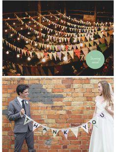 Flag wedding two