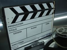A film slate. My degree is the film and in the future I want to work in this world.