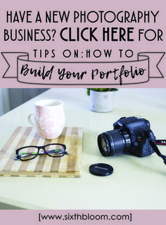Photography Tips, Photography Business Tips, Tips for photography business, how to build your photography portfolio