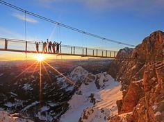 Dachstein Hängebrücke - Der Dachstein