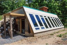 Our Earthship is coming along wonderfully! The framing just passed inspection, and we are now moving on all else!