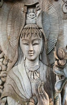 """""""Then Sorrowless, goddess of the hall of assembly of bodhisattvas, with ten…"""