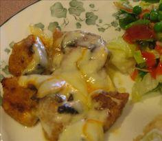 ~Mushroom Muenster Chicken~ Delicious