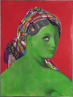 Made in Japan - La Grande Odalisque. Martial Raysse. 1964.