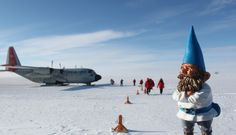 Travelling Gnome called Kern proves science theory in South Pole