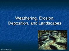 This PowerPoint presentation has 42 slides on the following topics: Weathering, Erosion, Deposition, Landscapes, Physical and Chemical Weathering, Soil Formation, Erosion of Sediments, Erosion by Water-Wind-Ice, Velocity of Streams, Deposition Factors, Sorting Sediments, Deposition by Wind-Gravity-Glaciers, Continental Glaciers, Glacial Features, Oceans and Coasts, Landscapes, Climate Influence, Landscape Regions in US and NY, Drainage Patterns, Human Activities on Landscapes. $6.00