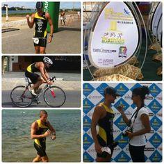 Hoje foi dia de pódio para o triatleta Alexandria, campeão pernambucano do Sprint Triathlon 2013! \o/