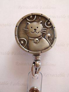 Cat Lovers Retractable Badge Holder by RetractableFashions on Etsy, $9.99