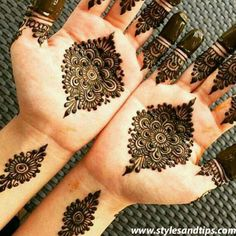 Unique And Easy Mehndi Design Latest Images For Back Hands 2019 Pretty Henna Designs, Arabic Bridal Mehndi Designs, Palm Mehndi Design, Mehndi Designs For Girls, Mehndi Design Pictures, Simple Mehndi Designs, Easy Mehndi, Wedding Mehndi, Mehndi Images