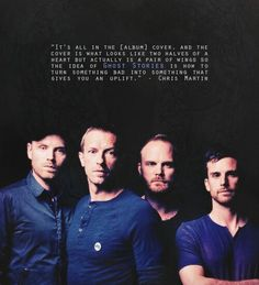 """What is 'Ghost Stories'?"" Responses like this perfectly sum up why Coldplay will always be more than just a band to me ♡"