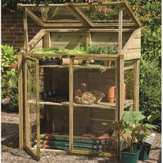 Forest Garden FSC Mini Greenhouse on Sale | Fast Delivery | Greenfingers.com