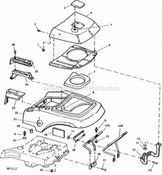 John Deere Rx75 further John Deere Gt262 Drive Belt Diagram Wiring Diagrams likewise S 66 John Deere D160 Parts as well  on john deere ltr180 mower deck belt diagram