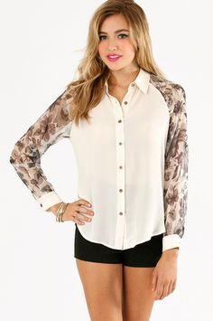 Floral Blocked Blouse $48 http://www.tobi.com/product/50949-tobi-floral-blocked-blouse?color_id=68463_medium=email_source=new_campaign=2013-08-09