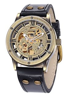 Alienwork Retro Automatic Watch Self-winding Skeleton Mechanical Retro Leather bronze brown black W9397-01 Alienwork http://www.amazon.com/dp/B00UY1QXU6/ref=cm_sw_r_pi_dp_Iaj7vb0419EHK
