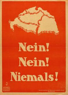 Erno Jeges, Nein!Nein!Niemals!, c. 1920