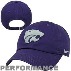 reputable site bc0c4 6d3a8 Nike Kansas State Wildcats Dri-FIT 3D Tailback Adjustable Performance Hat -  Purple