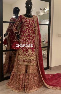 Bridal Mehndi Dresses, Asian Bridal Dresses, Pakistani Wedding Outfits, Pakistani Wedding Dresses, Pakistani Dress Design, Bridal Outfits, Pakistani Bridal Couture, Indian Bridal Wear, Banarasi Sarees