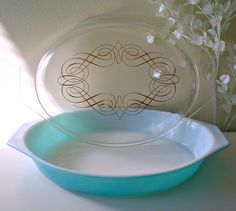 Princess Pyrex, 1960 (This one is one of our favorites!)