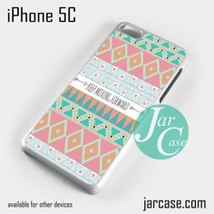 Keep Moving Forward Aztec Phone case for iPhone 5C and other iPhone devices