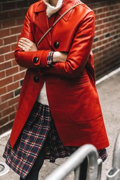 Tartan, in particular the Prince of Wales, was the key print of the Winter 2016 collections & fashionistas have been quick to adopt this trend on the street. www.stylestaples.com.au