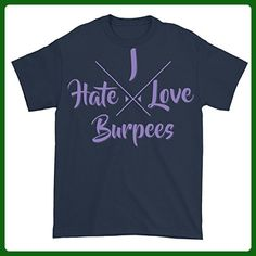 Funny Health And Fitness - I Love Hate Burpees - Workout T-shirt - Workout shirts (*Amazon Partner-Link)