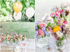 Boho Styled Shoot I Wedding Flowers I daniel-undorf.de