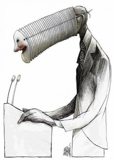 The wordless, surreal and very Cuban satire of Angel Boligán Pictures With Deep Meaning, Art With Meaning, Art Sketches, Art Drawings, Meaningful Pictures, Meaningful Paintings, Meaningful Drawings, Satirical Illustrations, Deep Art
