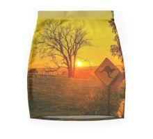 Sunrise near Metcalf Victoria Pencil Skirt