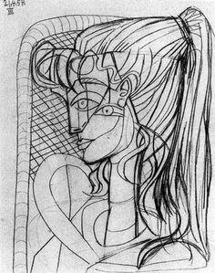 Pablo Picasso: Lápiz y papel.