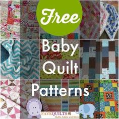27 Free Baby Quilt Patterns