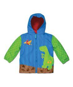 Another great find on #zulily! Stephen Joseph Dino Raincoat - Toddler & Boys by Stephen Joseph #zulilyfinds