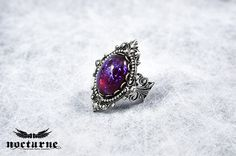 Dragon's Breath Victorian Ring by Nocturne