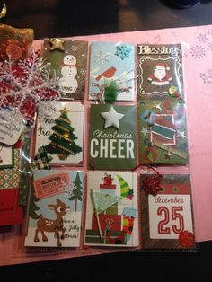 Christmas Cheer Pocket Letter by Marzipan - Cards and Paper Crafts at Splitcoaststampers