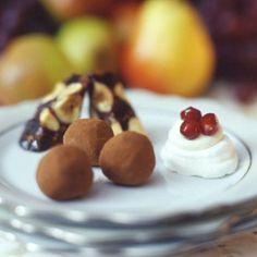 Chocolate Earl Grey Truffles recipe   Epicurious.com