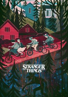 Stranger Things lockscreen