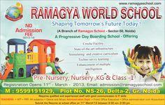 RAMAGYA SCHOOL NOIDA (A Unit of SAI Chhaya Educational & Welfare Society - Affiliated to CBSE Pre Nursery to XII)