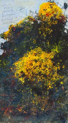Kurt Jackson: 'When the Gorse is in Blossom, Kissing is in Season', 2014 Kurt Jackson, Landscape Artwork, Abstract Landscape, Art Gallery Uk, St Just, Historia Natural, Modern Art Movements, Contemporary Abstract Art, Art Exhibitions
