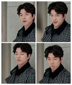 Don't mess with the Goblin ㅋㅋㅋ Goblin Korean Drama, Ji Eun Tak, Kim Go Eun, Kdrama Actors, Asian Actors, Korean Actors, Yook Sungjae, Lonely, Shin