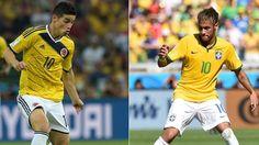 Copa América:James Rodríguez destaca fase de Neymar e elogia seu próximo oponente da 2ª fase