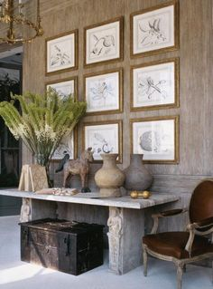 interior design ideas and inspiration for the transitional home : Art Statement: Gallery walls Gallery Wall, Decor, House Styles, House Design, Decor Inspiration, Transitional House, Interior Design, House Interior, Home Deco
