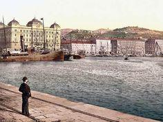 RÉGI FOTÓKKAL A VILÁG KÖRÜL...: FIUME RÉGI KÉPESLAPOKON 1900 KÖRÜL...