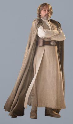 Luke Skywalker Star wars the force awakens Star Wars Characters, Star Wars Episodes, Jedi Costume, Star Wars Sequel Trilogy, Star Wars Luke Skywalker, Star Wars Rpg, Star Wars Costumes, Star Wars Wallpaper, Mark Hamill