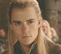 Orlando Bloom as Legolas in Lord of the Rings movies