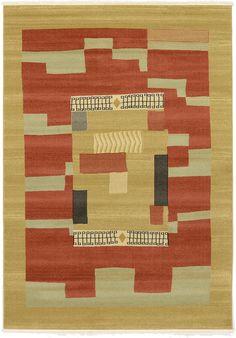 Rust Red 7' x 10' Kashkuli Gabbeh Rug | Area Rugs | eSaleRugs