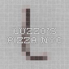 LUZZO'S PIZZA nyc