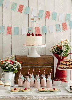 S sweet strawberry birthday party riley клубничная сва Fall Birthday Decorations, Anniversary Decorations, Anniversary Parties, Pink Dessert Tables, Dessert Table Birthday, Baby Birthday, Birthday Parties, Idee Baby Shower, Happy Party