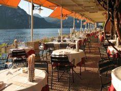 the restaurant on the terrace